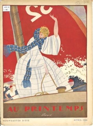 Au Printemps, catalogue Nouveautés d'été, avril 1936